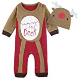 Best Funny Party Hats Costumes - Mombebe Baby Boys' Christmas Snowman Costume Romper Review
