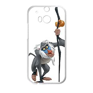 HTC One M8 Phone Case White Disney The Lion King Character Rafiki ESTY7802496
