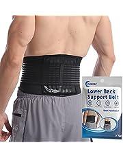 Pas podtrzymujący dolnej części pleców - klamra podparcia lędźwiowego dla złagodzenia bólu, regulowana dolna część pleców dla mężczyzn i kobiet, wygodny pasek podtrzymujący lędźwiowy do rwy kulszowej, skoliozy i przepukliny dysku