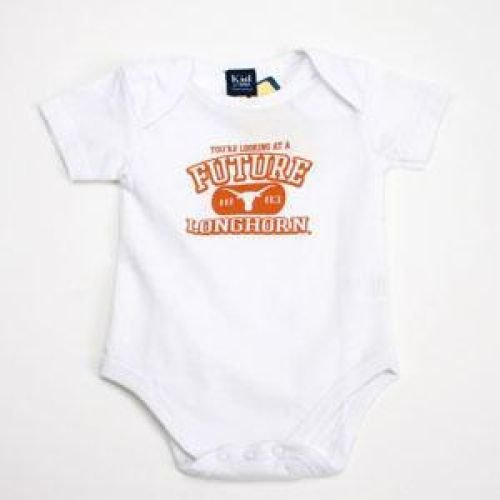 Texas Longhorns - Newborn One N' All - Infant - OneSize (Baby Longhorns Gear Texas)