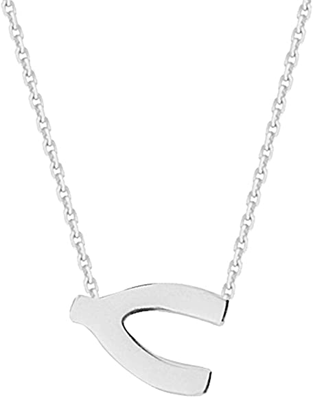 FB Jewels 925 Sterling Silver Heart 16-18 Adjustable Necklace