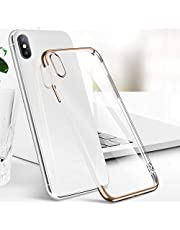 Samione iPhone XS Max H¨¹lle, Bumper H¨¹lle F¨¹r iPhone XS Max Schutzh¨¹lle Weiche Silikon H¨¹lle Case Ultra Slim Handyh¨¹lle F¨¹r iPhone XS Max