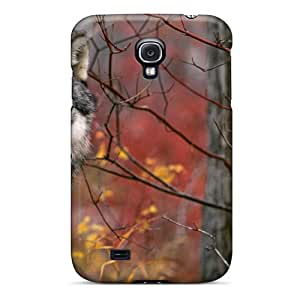 New Design Shatterproof GtRPAqy6382xuYxD Case For Galaxy S4 (beautiful Wolf)