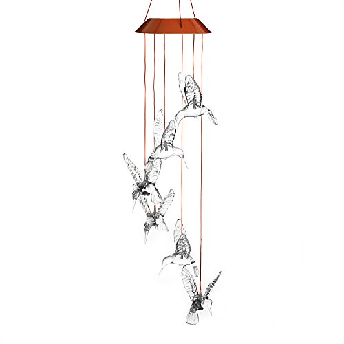 8 crystal wind chime - 5
