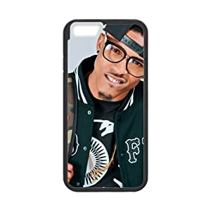 Onshop August Alsina Pattern Custom Phone Case Laser Technology for iPhone 6 4.7 Inch