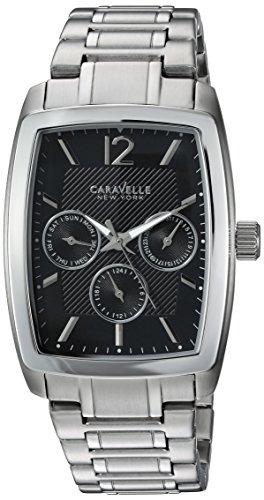 Bulova Men's Quartz Stainless Steel Casual Watch, Color:Silver-Toned (Model: 43C115)