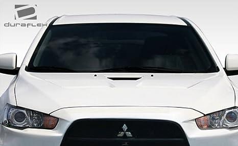 106959 08-17 Mitsubishi Lancer EVO X Look Duraflex Body Kit-Wing//Spoiler!!