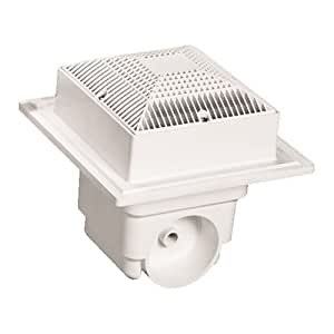 Lawson MLD-SG-0909-WT2 9 x 9 in. Sump Twin Pack - White