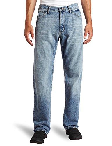 [Nautica Jeans Men's Relaxed Light Hatch Jean, Hokline Blue, 34Wx30L] (Hatch Jeans)