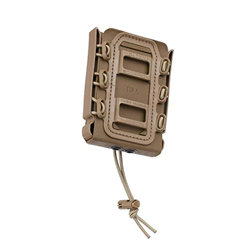 G-CODE Rifle Soft Shell Scorpion Mag Carrier (TAN) with Belt Loop 100% Made in USA ()