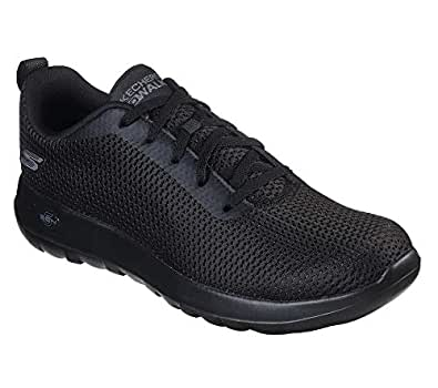 Skechers Australia GO Walk MAX - Effort Men's Walking Shoe, Black/Black, 7 US