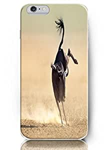 Cute Painting Apple iPhone 6 Plus Case (5.5 Inch) perfit fit comfortable touch - Sheep Running Fast BY EPPOR
