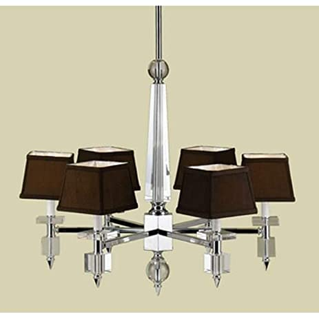 Amazon af lighting 6685 6h candice olson six light chandelier af lighting 6685 6h candice olson six light chandelier crystal chrome finish with aloadofball Choice Image