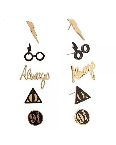 Harry Potter Logo Earrings 5 - Potter Glasses Online Harry