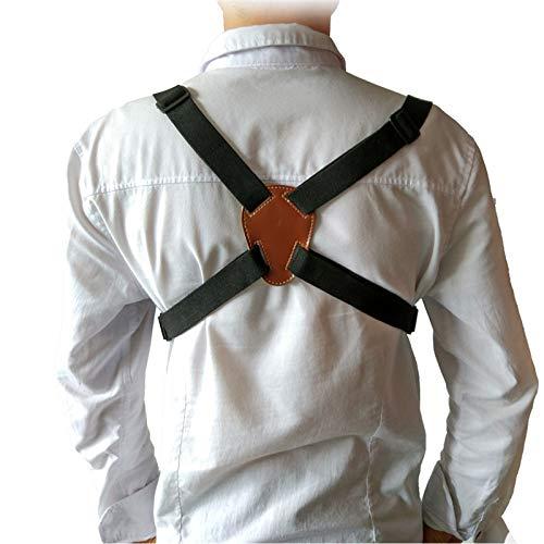 Lannmart Adjustable Camera Double Shoulder Neck Belt Strap Lanyard