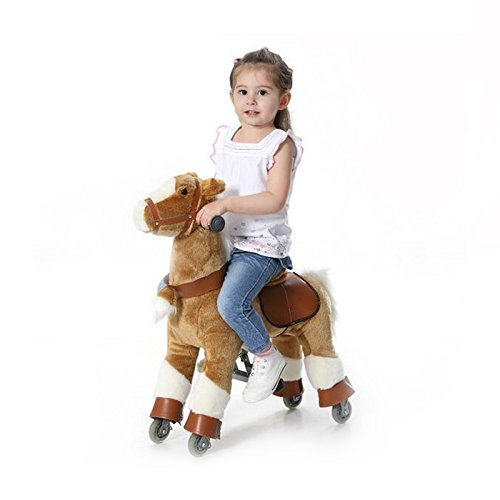 Wisamic Mechanical Rocking Horse, Ride on Pony Toy