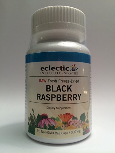 Eclectic Institute Black Raspberry Freeze-Dried, 300 mg, ...