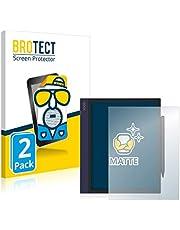 BROTECT 2x Antireflecterende Beschermfolie compatibel met Onyx Boox Note Air Anti-Glare Screen Protector, Mat, Ontspiegelend