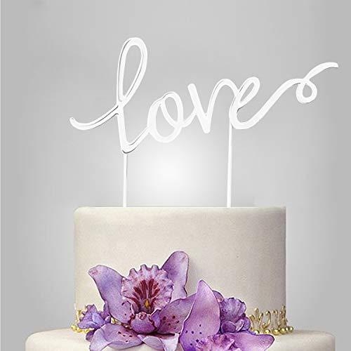 Top 10 love cake topper metal