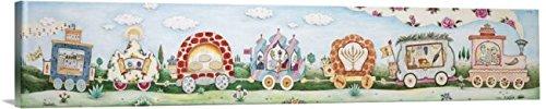 Imagekind Wall Art Print entitled Mitzvah Train - Holiday Michoel Muchnik | 10 x 2