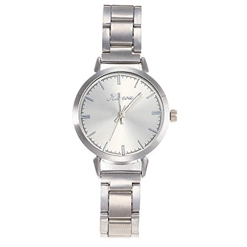 LUCAMORE Women's Fashion Business Luxury Quartz Stainless Steel Dial Wrist Watch,Round Case Wristwatch Hot!!!