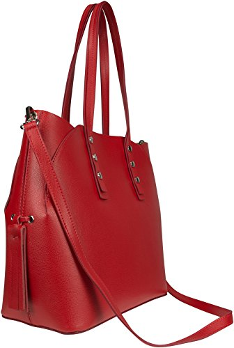 Shirin Sehan  Nela, Cabas pour femme rouge Rot