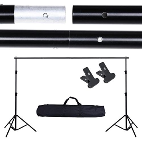 New 10Ft Photo Backdrop Crossbar Kit Adjustable Background Support Stand Photography (Aquarium Dvd Background)