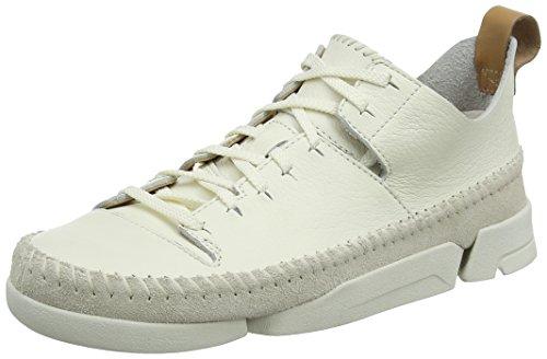 Clarks Zapatillas Mujer Blanco Flex Trigenic White PErxqPg