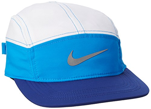 0637b98222fda Galleon - Nike Womens Run Zip AW84 Dri-Fit Running Hat Photo  Blue White Deep Royal