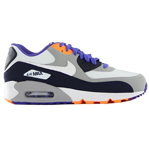 Citrus De white bright Nike persian Violet Obsidian Gar Chaussures On Air Max 90 gs Running Mesh Wa6aYZrq