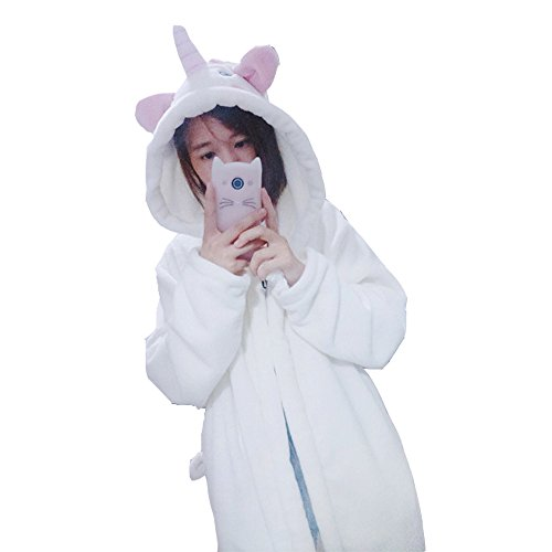 Abito Unisex Inverno Unicorno Pigiama Costume Accappatoio Animale Accappatoio Coppia Cosplay Donna Colorfulworld Flannel Unicorn pIxadqnI