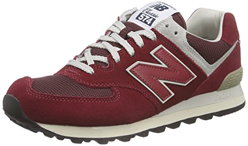 New Rot Sneakers Balance Grün WL574 Herren Red BBqT7