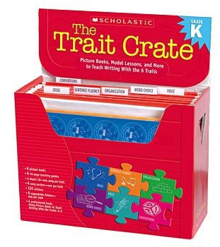 SCHOLASTIC The Trait Crate Kindergarten