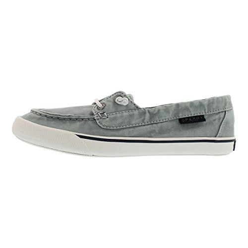 Sperry Top-Sider Women's Lounge Away Washed Boat Shoe Light Blue 8 M US