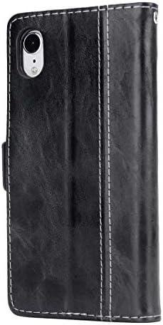 Samsung Galaxy S10 Plus プラス PUレザー ケース, 手帳型 ケース 本革 カバー収納 スマホケース 全面保護 ビジネス 財布 手帳型ケース Samsung Galaxy サムスン ギャラクシー S10 Plus プラス レザーケース