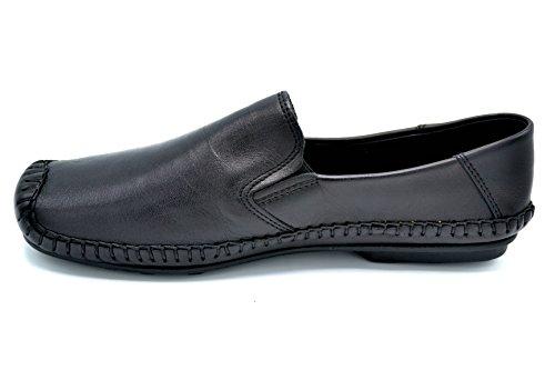 Dingo 0612 Negro - Zapato de verano en piel