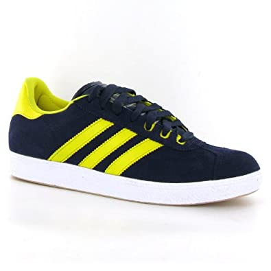 Adidas Gazelle Navy Yellow Suede Mens Trainers  Amazon.co.uk  Shoes   Bags ad7c2d427