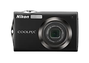 Nikon Coolpix S4000 12 MP Digital Camera with 4x Optical Vibration Reduction (VR) Zoom and 3.0-Inch Touch-Panel LCD (Black)