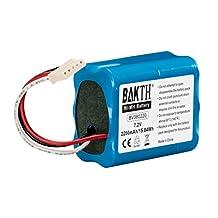 BAKTH 2200mAh 7.2V NiMH Battery Real Capacity for iRobot Braava 380T, Braava 380, Mint Plus 5200, 5200C