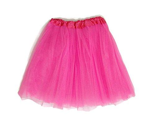 Mens Pink Tutu Adult Costumes (Rush Dance Women's PLUS SIZE Costume Ballet Warrior Dash Run Tutu (Adult, Special Pink))