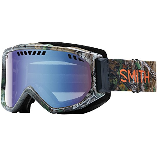 Smith Optics Scope Adult Snowmobile Goggles Realtree Xtra Green / Blue Sensor Mirror