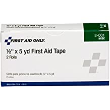 """Pac-Kit by First Aid Only 8-001 Medical Adhesive Tape Roll, 2-1/2 yds Length x 1/2"""" Width (Box of 2)"""
