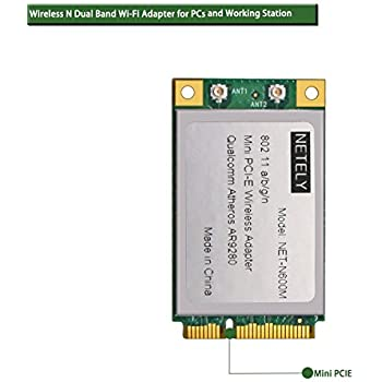 Amazon com: Qualcomm Atheros AR9280 AR5BXB92 AR5009 Mini PCI-Express