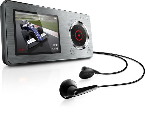 Philips GoGear Cam Player Silver