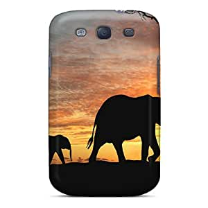 Hot QYoUTET2046iSBBd Case Cover Protector For Galaxy S3- Elephant
