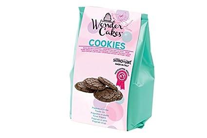 silikomart 99.095.02.0062 - Wonder Cookies Preparado en Polvo para Hacer Galletas 400 gr