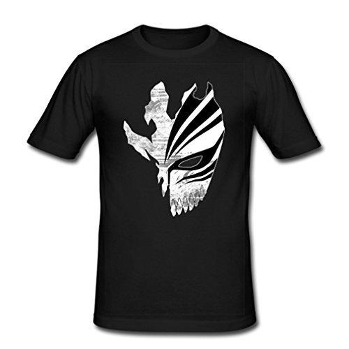 HJGBEDS Mens Japan Anime Bleach Death Mask Classic T-shirt XXL Black