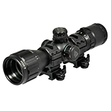 "UTG 3-9X32 1"" BugBuster Scope, AO, RGB Mil Dot"