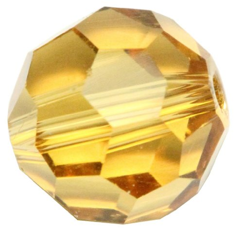Amber Glass Spacers - 1