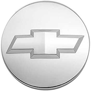 GM Accessories 88966045 Button Style Center Cap in Aluminum with Tri-Shield Logo General Motors